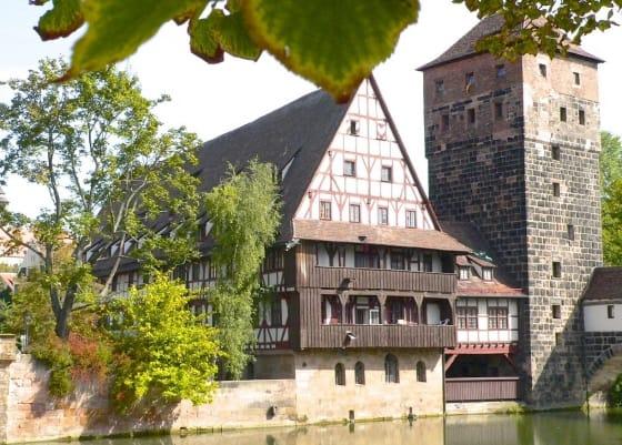 Nürnberg, Fachwerkhaus Nürnberg,Sehenswürdigkeit, Reiseführer, Reisetipps, Highlights, Rundgang, Sightseeing, Stadtplan