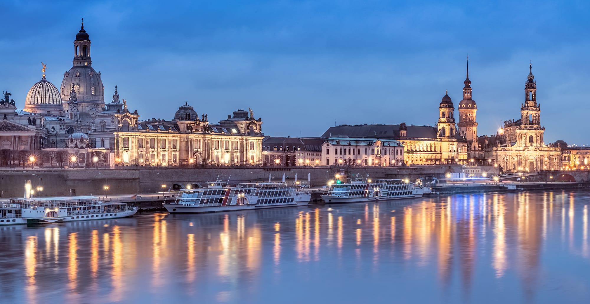 Dresden, Panorama Dresden,Sehenswürdigkeit, Reiseführer, Reisetipps, Highlights, Rundgang, Sightseeing, Stadtplan