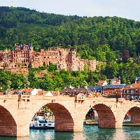Heidelberg, Alte Brücke Heidelberg, Sehenswürdigkeit, Reiseführer, Reisetipps, Highlights, Rundgang, Sightseeing, Stadtplan