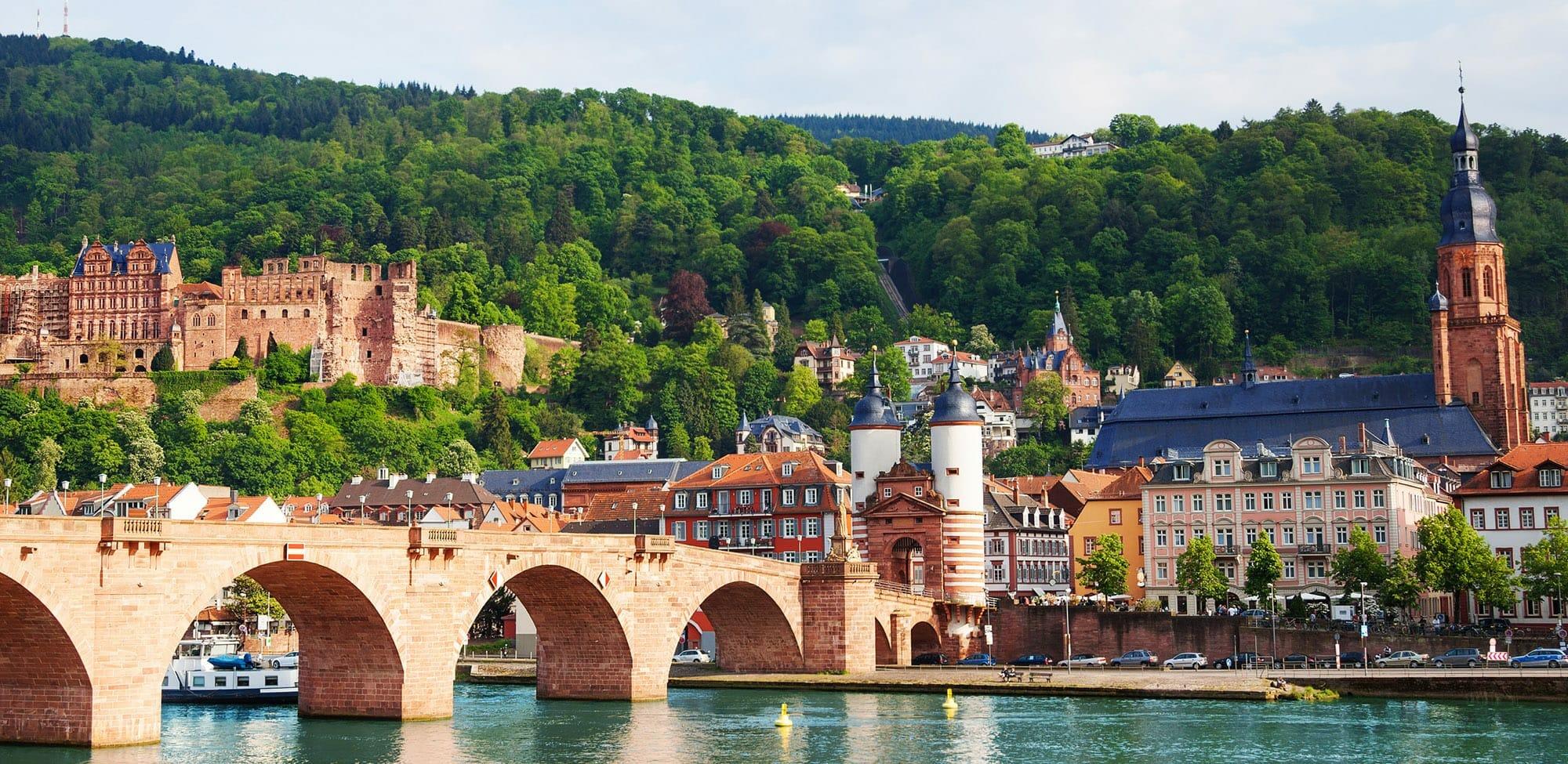 Alte Brücke Heidelberg, Heidelberg,Sehenswürdigkeit, Reiseführer, Reisetipps, Highlights, Rundgang, Sightseeing, Stadtplan