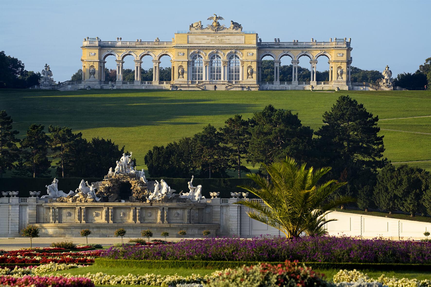 Reiseführer Wien Schloss Schönbrunn Gloriette