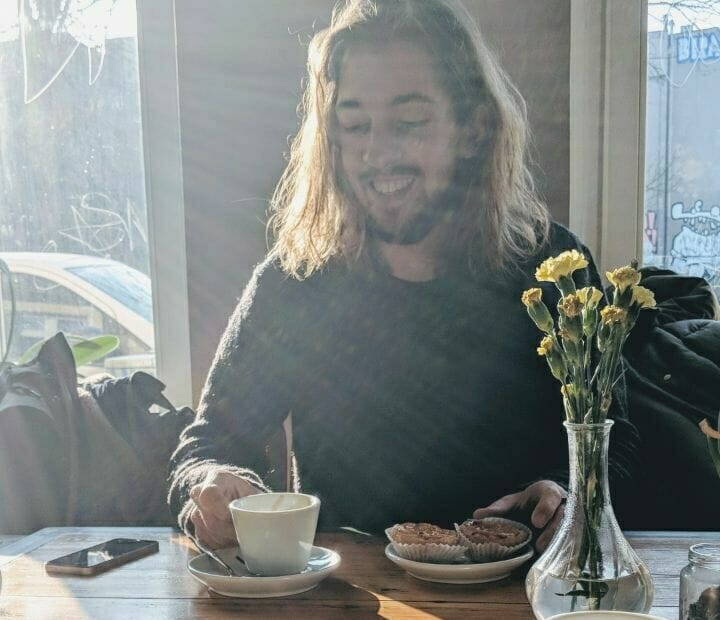 Unser Café in Berlin pastel de nata