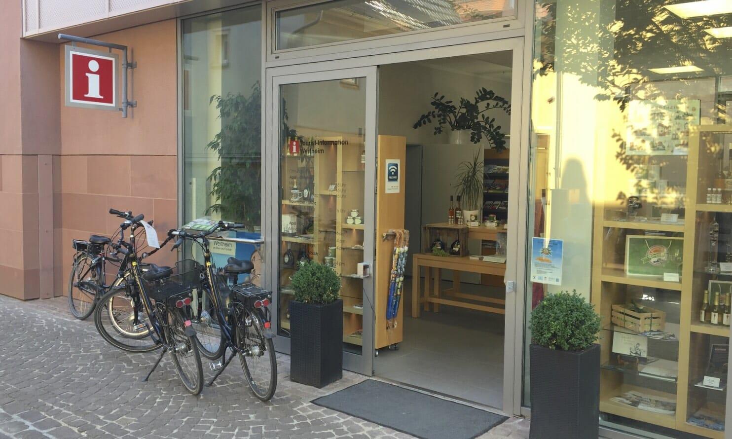 Wertheim, eBikes, Touristinformation