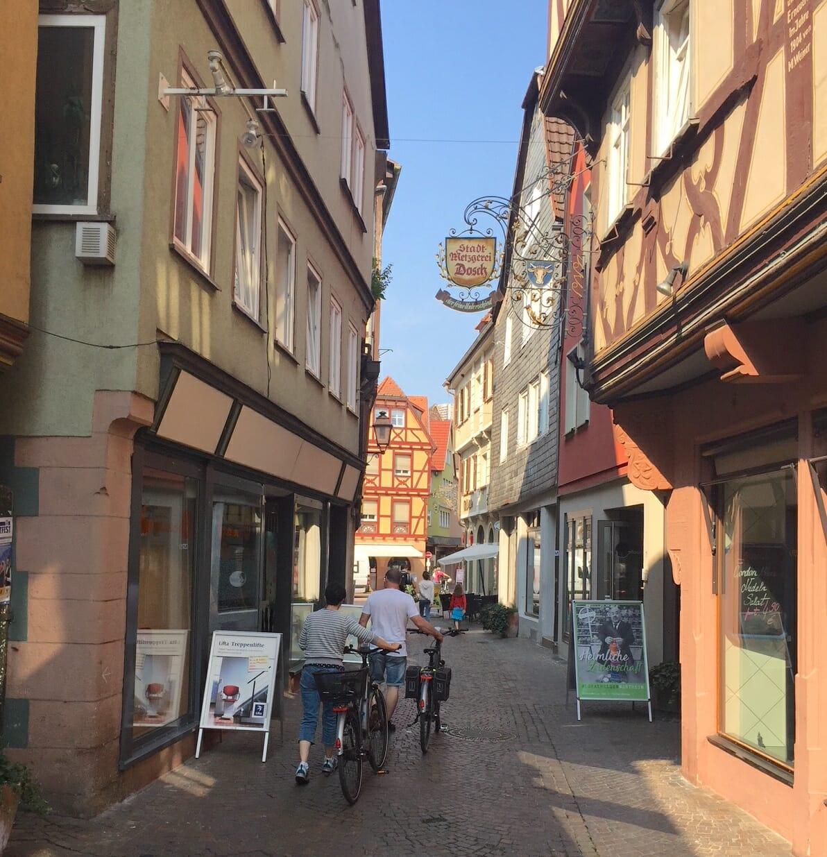 eBike, Radwanderung, Taubertal, Wertheim, Main