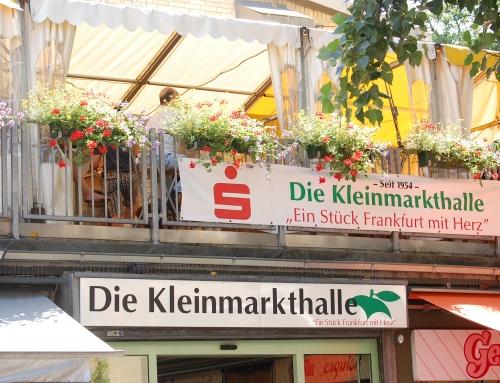 Frankfurt: Kurze Weile in der Markthalle (Max)